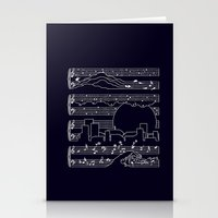 The Moonlight Sonata Stationery Cards