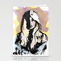 Blonde Stationery Cards
