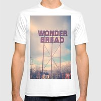 Always Wonder Mens Fitted Tee White SMALL