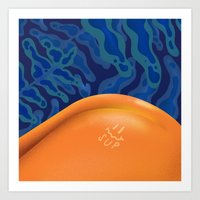 Tan Lines Art Print