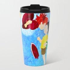 Ponyo and Sosuke Travel Mug