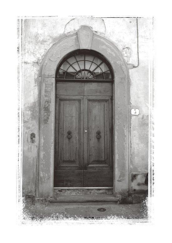Rome Door 1 Art Print