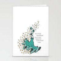 Imaginary Friends Are The Best Friends Stationery Cards