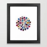 Mystic Flower ii Framed Art Print