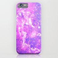 iPhone & iPod Case featuring Pink Galaxy by Matt Borchert