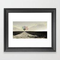 RGB Tree Framed Art Print
