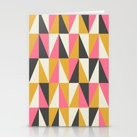 Orange & Grey Stationery Cards