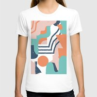 Smotth Senses Womens Fitted Tee White SMALL