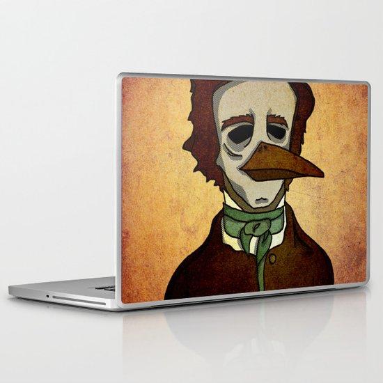 Prophets of Fiction - Edgar Allan Poe /The Raven Laptop & iPad Skin