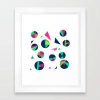 Circle Me Framed Art Print