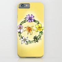 Garland Of Flowers iPhone 6 Slim Case