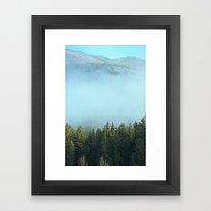 Early Morning Mist Framed Art Print