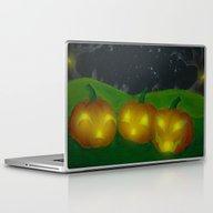 Laptop & iPad Skin featuring Lantern Trio by KristenOKeefeArt