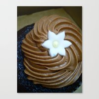 Chocolate Cupcake Canvas Print