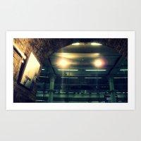 London St Pancras Art Print