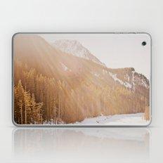 Sun Shining through the Mountains Laptop & iPad Skin