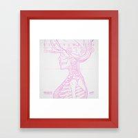 Sketch-Electro-A Framed Art Print