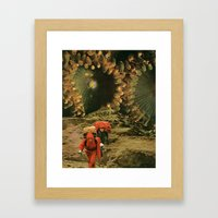 This Is The Way Framed Art Print