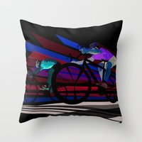 Illustration Graphic Des… Throw Pillow