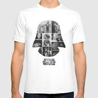 A New Hope COLLAGE Varia… Mens Fitted Tee White SMALL