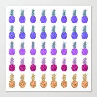 Pineapples - Plantation Canvas Print