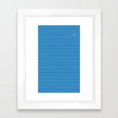 Cut It All Framed Art Print