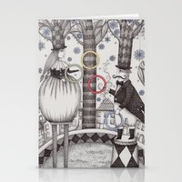 Winter Circus Stationery Cards