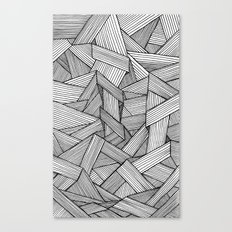 Straight Lines Canvas Print