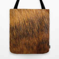 Brindle Fur Tote Bag