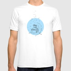 Sea. White Mens Fitted Tee SMALL