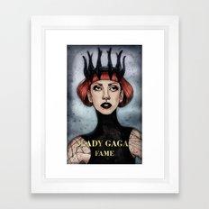FAME II Framed Art Print