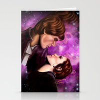 Star Wars, Han & Leia The Empire Strikes Back Stationery Cards