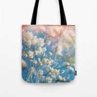 Lomo Flowers Tote Bag