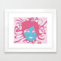 Bjork: All is Full of Love Framed Art Print
