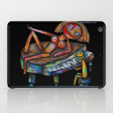 Every morning Jack plays the piano! iPad Case