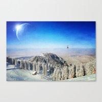 Between Worlds Canvas Print