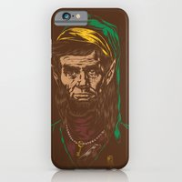 iPhone & iPod Case featuring Abraham LINKoln by Joshua Kemble