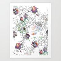 Cosmic Garden Art Print