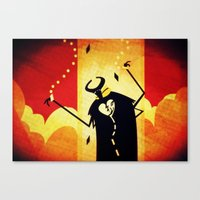 Canvas Print featuring What Mask today...? by Doc Diventia