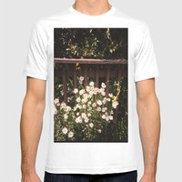 Daisy Mens Fitted Tee White SMALL
