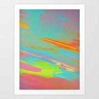 Burn 5 Art Print