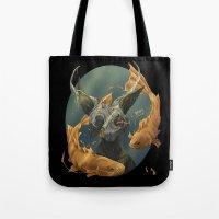 Fate Fish  Tote Bag