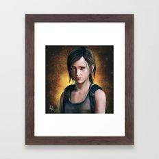 Ellie - The Last Of Us  Framed Art Print