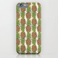 iPhone & iPod Case featuring PINA COLADA: pineapple by bows & arrows
