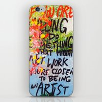 IF YOU ARE WILLING iPhone & iPod Skin