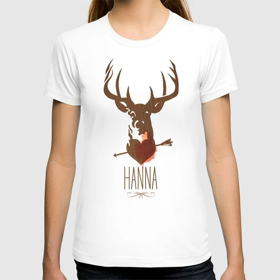 HANNA film tribute poster T-shirt