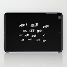 NEVERFORGET iPad Case