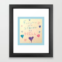 Unbreakable Kimmy Schmid… Framed Art Print