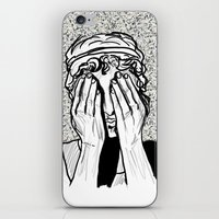 Weeping Angel iPhone & iPod Skin