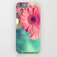 Pink Gerbera Daisy iPhone 6 Slim Case